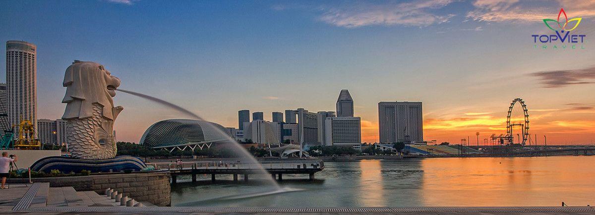 Truyền thuyết về tháp sư tử biển Merlion ở Singapore